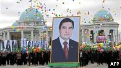 Празднование Дня независимости, Туркменистан, 27 октября, 2009.