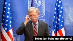 John Bolton, këshilltar për siguri kombëtare i presidentit amerikan, Donald Trump.