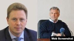 Дмитрий Овсянников и Алексей Чалый (коллаж)
