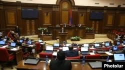 Спэцыяльнае пасяджэньне парлямэнту Армэніі па пытаньні абраньня прэм'ер-міністра