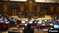 Специальное заседание Национального собрания Армении, Ереван, 1 ноября 2018 г.