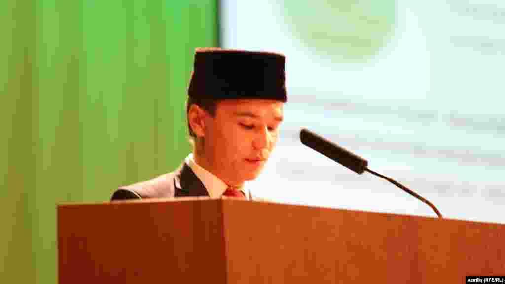 Бөтендөнья татар яшьләре форумының рәис урынбасары Тәбриз Яруллин