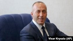 Kosovo Prime Minister Ramush Haradinaj (file photo)