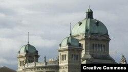 Федеральный дворец в Берне.