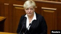 Новобризначений голова НБУ Валерія Гонтарєва, 19 червня 2014 року