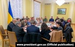 Заседание рабочей группы по вопросам пропавших без вести и пленных. Киев, 12 декабря 2019 года