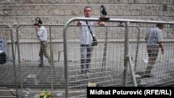 Prizor nakon protesta radnika, ilustrativna fotografija