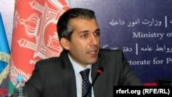 صدیق صدیقی سخنگوی وزارت داخله افغانستان