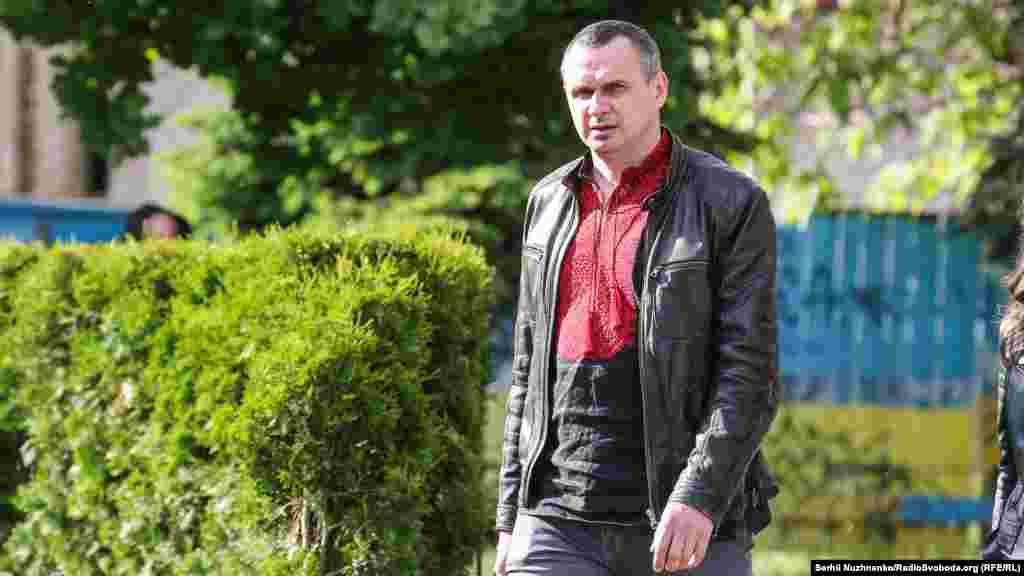 Олег Сенцов, колишній політв'язень Кремля, також долучився до відзначення Дня вишиванки