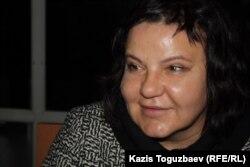 Елена Савинова, адвокат руководителя общественной организации «Аман-саулык» Бахыт Туменовой.