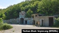 Объект №100 в горах у села Оборонное