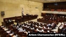 Зал заседаний Кнессета, парламента Израиля.