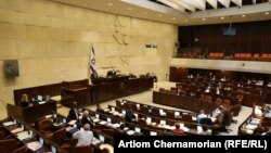 Зал заседаний парламента Израиля.