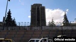 Pamje e Ambasadës së Rusisë në Damask