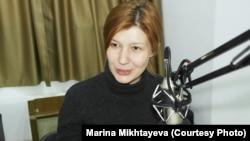 Казахстанский журналист Марина Михтаева.
