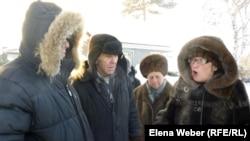 Жители Темиртау рассказывают о проблемах с водоснабжением. 20 декабря 2012 года.