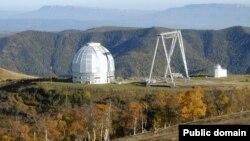 Teleskopska opservatorija u Rusiji, ilustracija