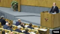 Сегодня Госдума соберется на заседание в последний раз в этом году.