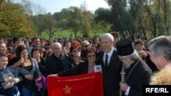 Boris Tadić u Šumaricama, Foto: Branko Vučković