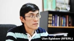 Gyrgyzystanyň tanymal jemgyýetçilik wekili Edil Baisalow
