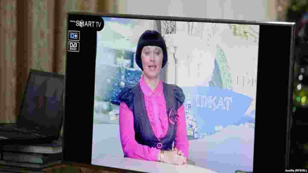 """Татарстан"" телевидениесе алып баручысы Эльмира Нуруллина"