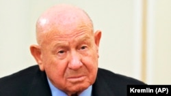Aleksei Leonov attends a meeting in the Novo-Ogaryovo presidential residence outside Moscow in June 2013.