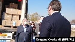 Vučić: Opreme ima za ceo jug Srbije