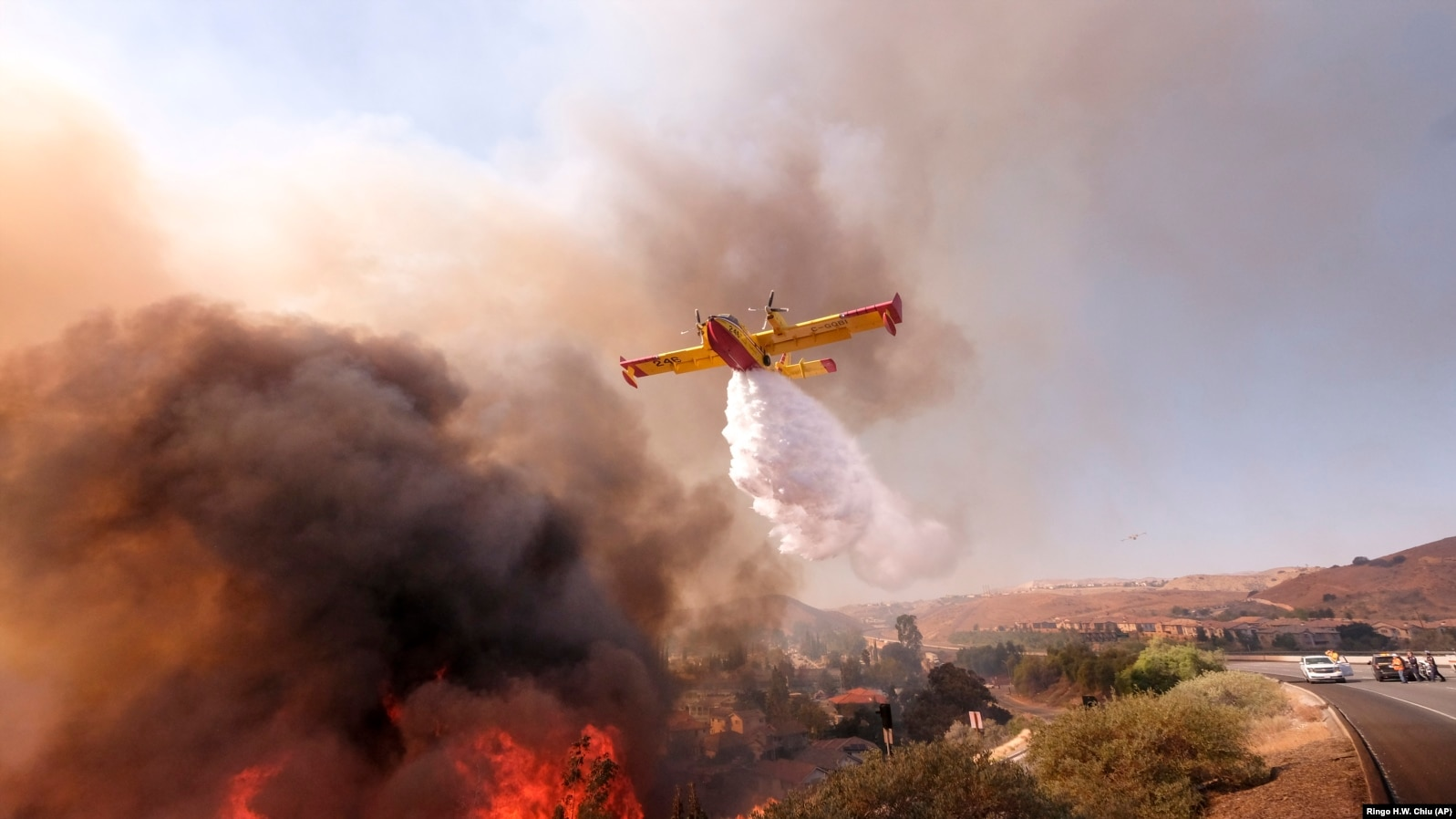 Не менее 50 человек стали жертвами пожаров в Калифорнии