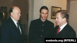 Vaclav Havel i Stanislav Šuškevič