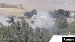 Неподалік вибуху в Кабулі, Афганістан, 31 липня 2017 року (скріншот із відео у соцмережах)