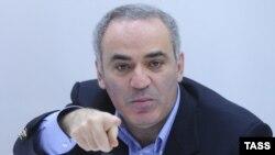 Гарри Каспаров Ресей оппозициясының үйлестіру кеңесінің жиынында отыр. Мәскеу, 24 қараша 2012 жыл.