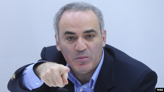 Garry Kasparov, a fierce critic of Vladimir Putin's leadership of Russia, has a record of divisiveness, according to some.