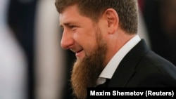 """Those [couples] who get divorced for trivial reasons or no reason at all, bringing tears into the eyes of their children, obey the commands of the [evil] genies,"" Chechen leader Ramzan Kadyrov says in an Instagram video. (file photo)"