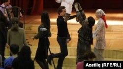 Ригада 2012 елдагы Европа татар яшьләре форумы вакытындагы мәдәни чара