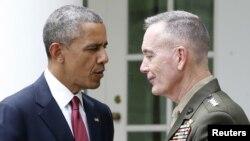 Բարաք Օբամա և Ջոզեֆ Դանֆորդ, Վաշինգտոն, 5-ը մայիսի, 2015թ.