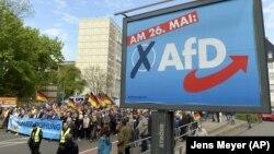 Marș în susținerea AfD
