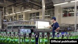 Армения – Поточная линия завода «Pepsi Cola Bottler Armenia», Ереван, 1 июня 2011 г.