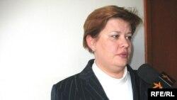Ирина Шаламова, адвокат осужденного Ивана Ручьева в Алматинском бюро радио Азаттык.