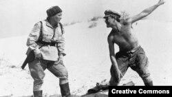 """Кадр из фильма """"Комиссар"""" Александра Аскольдова (1967). Иллюстративное фото."""