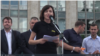 Maia Sandu a transmis rezoluția demonstrației de protest de duminică secretarului-general al Consiliului Europei