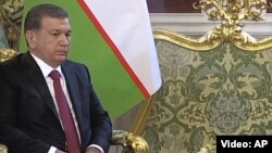 د ازبکستان ولسمشر شوکت میرضایف
