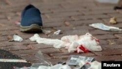 На месте атаки на мечеть в Новой Зеландии