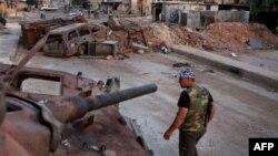 Сирийский повстанец. Иллюстративное фото.