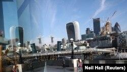 Pamje e qytetit të Londrës