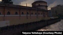 Петербург, городской пейзаж (архивное фото)