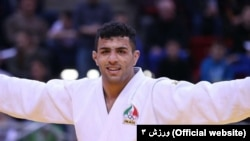 Saeid Mollaei, Iran's judo star who decided to seek asylum abroad rather than refuse to compete with Israeli athletes. File photo