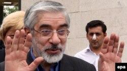 Мир Хуссейн Мусави, Иран оппозициясының жетекшісі.
