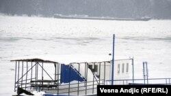Sneg i led u Beogradu