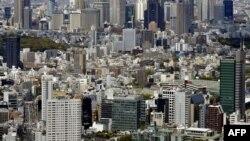 Pamje nga kryeqyteti Tokio i Japonisë
