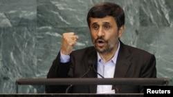 Mahmud Ahmadinejad la tribuna Națiunilor Unite